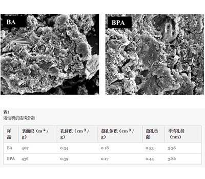 活性炭内矿物质的影响