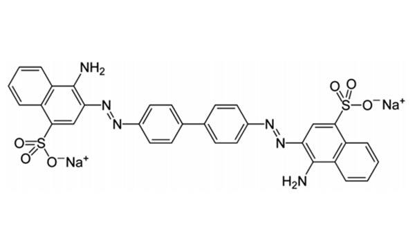 刚果红的分子结构